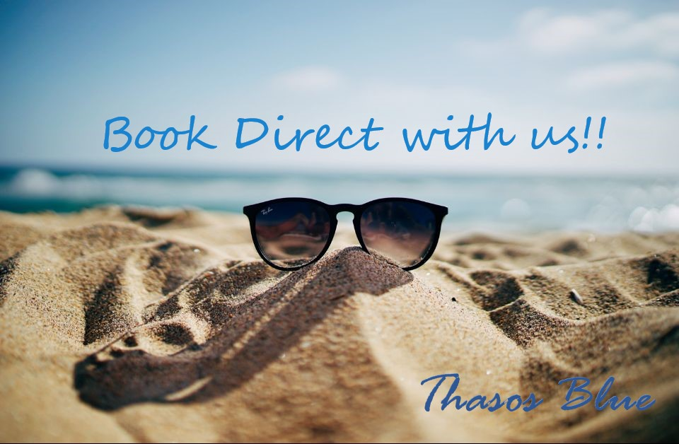 BOOK DIRECTLY WITH US, EXCLUSIVE DISCOUNTS AND BENEFITS!